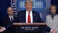 ترامپ: اقتصاد آمریکا تعطیل شده اما دوباره قویتر از هر زمانی برمیخیزیم