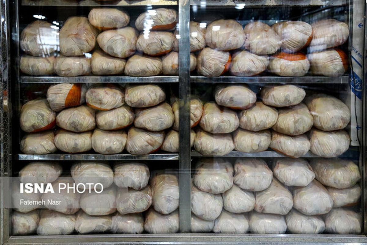 کاهش ۵ تا ۱۰ هزار تومانی قیمت مرغ