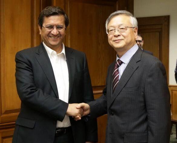 براساس توافق سفیر چین و رییس بانک مرکزی؛ روابط بانکی و مالی دو کشور ارتقا می یابد