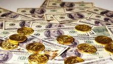 کاهش بهای ارز و طلا در بازار/ افزایش بهای سکه