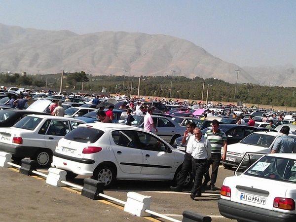 قیمت خودرو در بازار امروز دوشنبه ۸ مهر ۹۸