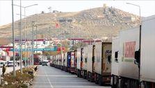 صف طولانی ۵۰۰ کامیون در مرز بازرگان/ گمرک: ترکیه همکاری نمیکند