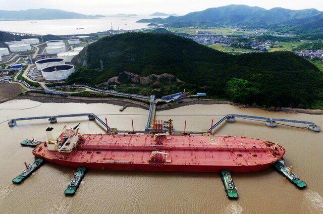 چین ۵۰۴ میلیون تن نفت خرید