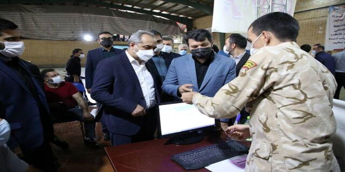 وزیر کار به دفتر آیت الله سیستانی رفت