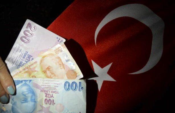 ارزش لیر ترکیه به کمترین حد خود رسید