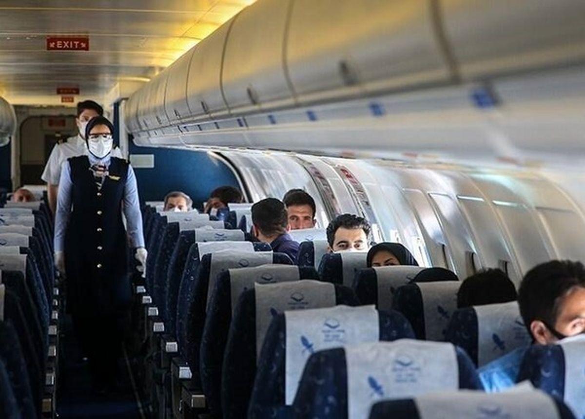 اطلاعیه جدید سازمان هواپیمایی: فروش بلیت پروازهای اربعین آغاز شد