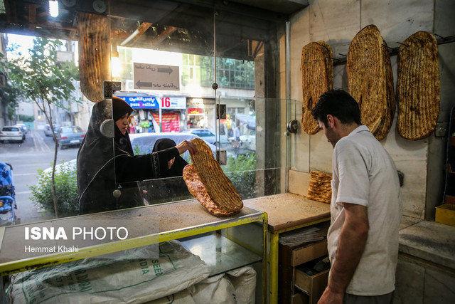 دولت مقابل گران شدن نان
