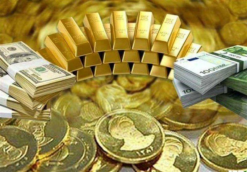 قیمت طلا، سکه و ارز امروز ۹۹/۰۵/۰۲