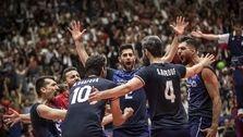تیم والیبال ایران اولین صعودکننده به فینال