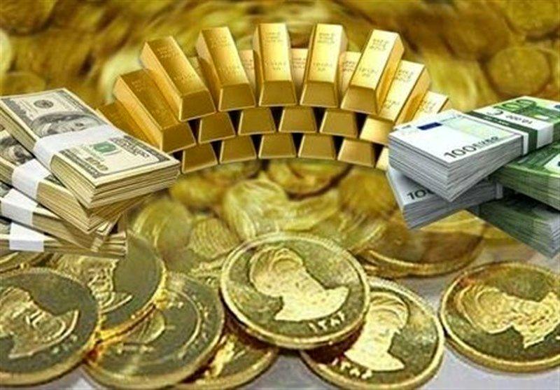 قیمت طلا، سکه و ارز امروز ۹۹/۰۷/۰۵