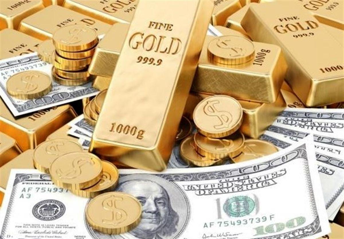 قیمت طلا، قیمت دلار، قیمت سکه و قیمت ارز امروز ۱۴۰۰/۰۶/۲۴