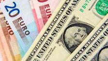 کاهش نرخ ۲۰ ارز رسمی