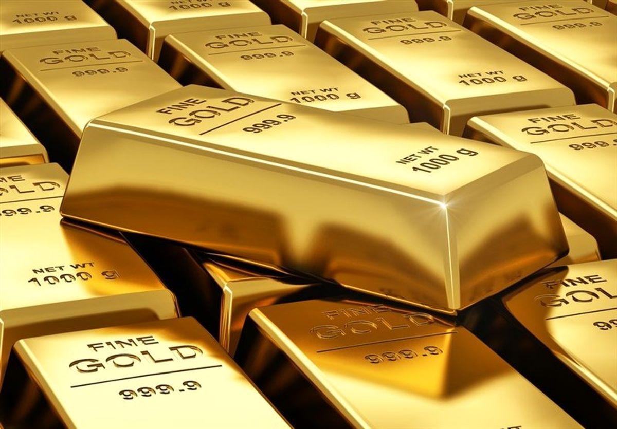 قیمت جهانی طلا امروز ۱۴۰۰/۰۶/۱۹؛ بازگشت طلا به کانال ۱۸۰۰ دلار