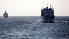 ورود یک فروند کشتی جنگی آمریکا به آب های خلیج فارس