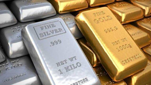 افزایش قیمت طلا و نقره در بازار جهانی