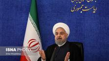 روحانی: برخی کشورهای همسایه پول ما را تحویل نمیدهند