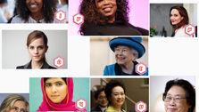 محترمترین زنان جهان به انتخاب مردم