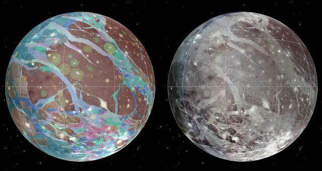 """فضاپیمای """"جونو"""" به قمر مشتری نزدیک میشود"""