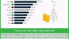 کدام اعضای اوپک مخالف قیمت نفت هستند؟
