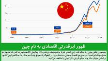 ظهور ابرقدرتی اقتصادی به نام چین