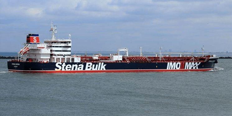 صادر شدن حکم رفع توقیف نفتکش انگلیسی