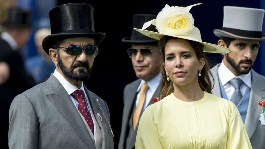 فرار همسر حاکم دبی با چمدان های پر از دلار